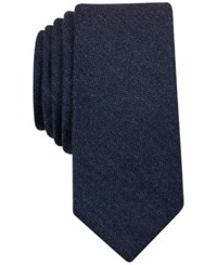 Bar Iii Solid Tie Only At Macy's Navy
