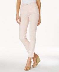 Charter Club Petite Bristol Skinny Ankle Jeans Only At Macy's Misty Pink