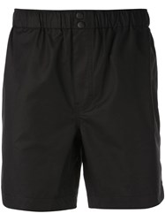 Alex Mill Elastic Waist Shorts Black