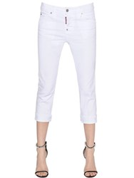 Dsquared Cool Girl Cropped Cotton Denim Jeans