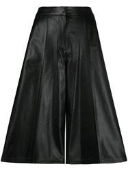 Desa 1972 Leather Cropped Palazzo Trousers 60
