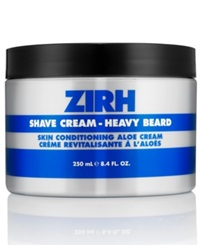 Zirh Heavy Beard Shave Cream 8.4 Oz No Color