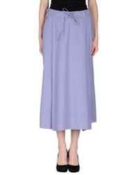 Manila Grace 3 4 Length Skirts Lilac