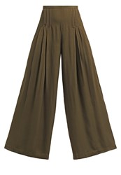 Cameo Collective The Frayne Trousers Khaki Oliv