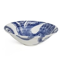 Bliss Home Creatures Blue Octopus Salad Bowl