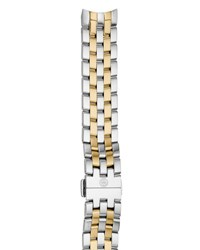 Michele Belmore 18Mm Two Tone Bracelet Strap