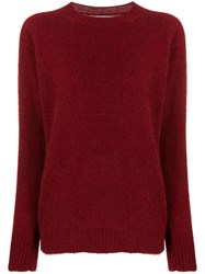Woolrich Knitted Jumper Red