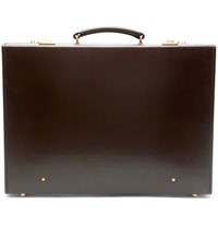 Kingsman Swaine Adeney Brigg Leather Briefcase Brown