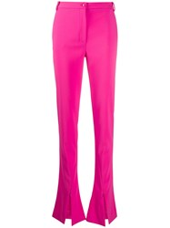 Patrizia Pepe Front Slit Flared Trousers 60