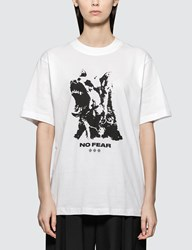 Wasted Paris No Fear White Short Sleeve T Shirt