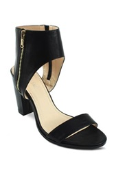 Mi.Im Lea Ankle Cuff High Heel Sandal Black