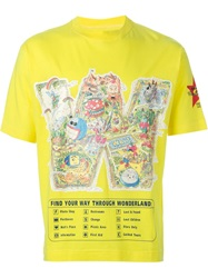 Walter Van Beirendonck Vintage 'W Wonderland' T Shirt Yellow And Orange