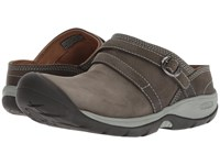 Keen Presidio Ii Mule Turbulence Wrought Iron Shoes Gray
