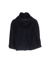 Annarita N. Capes And Ponchos Dark Blue