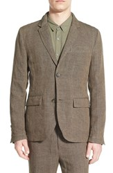 Men's James Perse 'Delave' Regular Fit Linen Blazer