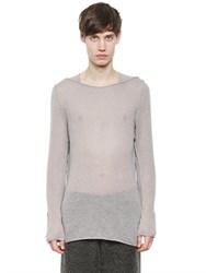 Damir Doma Sheer Wool Blend Sweater