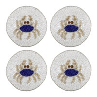 Joanna Buchanan Set Of 4 Coasters Crab