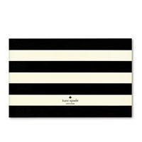 Kate Spade Picture Frame Black Stripe