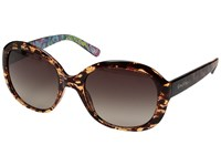 Lilly Pulitzer Magnolia Dark Tortoise Fan Sea Pants Inside Temples Polarized Dark Brown Fashion Sunglasses