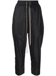 Rick Owens Cropped Drawstring Trousers 60