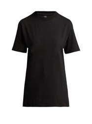 Hanes X Karla The Original Cotton Jersey T Shirt Black