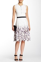 Stella And Jamie Au Lait Lace Skirt Multi