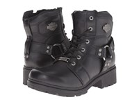 Harley Davidson Jocelyn Black Women's Lace Up Boots