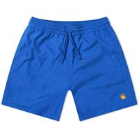 Carhartt Wip Chase Swim Short Blue