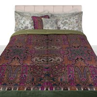 Etro Ness Quilted Bedspread Green