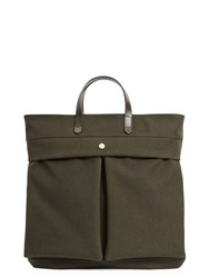 Mismo M S Helmet Bag Pine Green Dark Brown