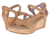 Teva Capri Wedge Pearlized Tan Women's Wedge Shoes