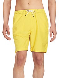 Victorinox Drawstring Waist Swim Trunks Yellow