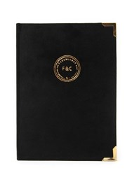 Fineandcandy Black Velvet Notebook