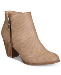 Styleandco. Style Co. Jamila Zip Booties Only At Macy's Women's Shoes Saddle