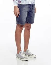 Cheap Monday Line Shorts Anti Blue In Regular Fit