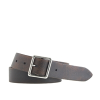 J.Crew Wallace And Barnes Tannery Belt Dark Roast
