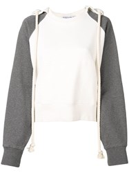 J.W.Anderson Jw Anderson Off White Rope Hoodie