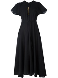 Ellery Raglan Sleeve Dress Black