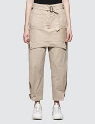 J.W.Anderson Jw Anderson Fold Front Utility Trousers