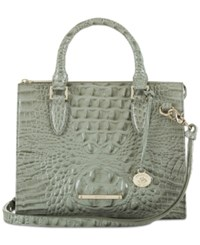 Brahmin Melbourne Anywhere Convertible Satchel A Macy's Exclusive Style Silver Sage