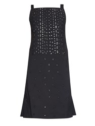 Osman Embellished Square Neck Dress
