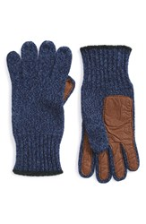 Polo Ralph Lauren Merino Wool Blend Gloves Greygarth