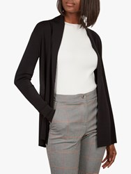 Ted Baker Leby Woven Detail Knitted Cardigan Black