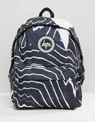 Hype Backpack Zebra Black
