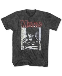 New World Misfits Graphic T Shirt Dark Gray