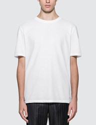 Thom Browne Center Back Stripe Pique T Shirt White