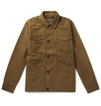 Filson Waxed Cotton Jacket Brown