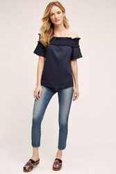 Anthropologie Ag Stevie Ankle Jeans Horizon Shift
