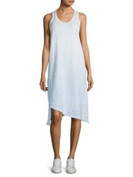 Wilt Asymmetric Ombre Tank Dress Washed Blue