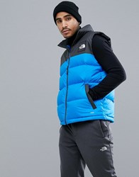 The North Face 1992 Nuptse Vest In Blue